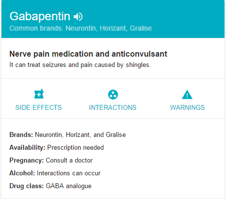 What is Gabapentin ?