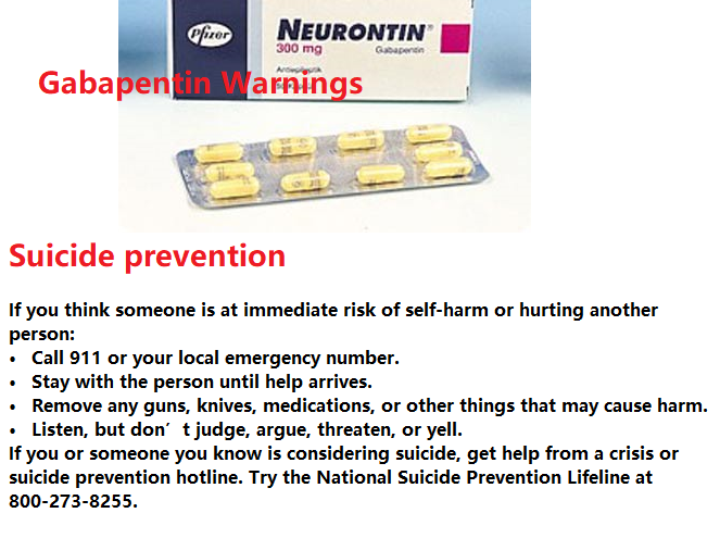 What is the most important information I should know about Gabapentin?